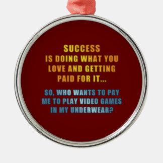 Éxito - videojuegos del juego adorno de navidad