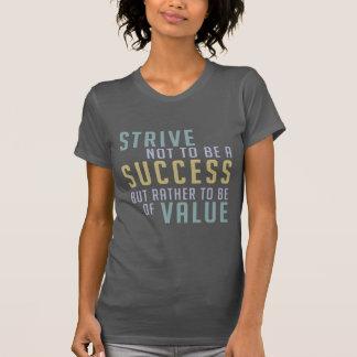 Éxito y camisetas y chaquetas de motivación del va
