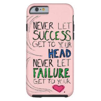 Éxito y fracaso funda de iPhone 6 tough