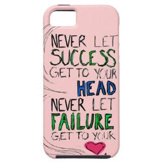 Éxito y fracaso iPhone 5 carcasas