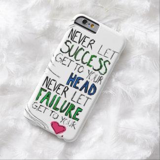 Éxito y fracaso funda para iPhone 6 barely there