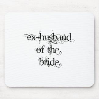 Exmarido de la novia mousepad