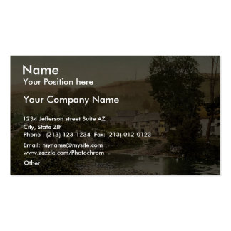 Exmoor, Malmsmead Inn and bridge, Doone Valley, Ly Double-Sided Standard Business Cards (Pack Of 100)