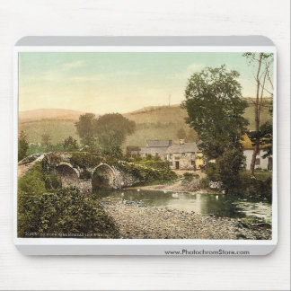 Exmoor, Malmsmead Inn and bridge, Doone Valley, Ly Mouse Pad