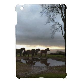 Exmoor Ponies iPad Mini Cover