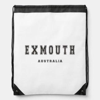 Exmouth Australia Drawstring Backpack