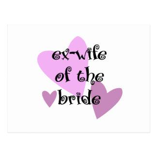 Exmujer de la novia tarjetas postales