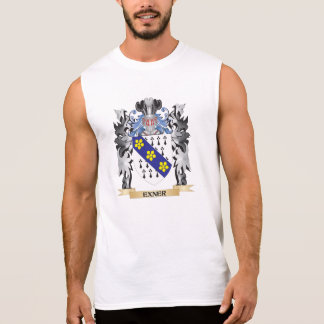 Exner Coat of Arms - Family Crest Sleeveless Shirts