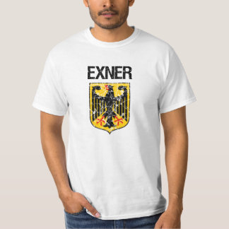 Exner Last Name T-shirt