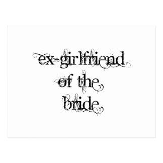 Exnovia de la novia postal