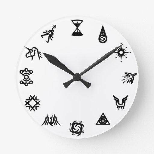 EXO Symbols Clock