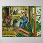 Éxodo 31 2-8 Bezalel y Oholiab que hacen la arca o Poster