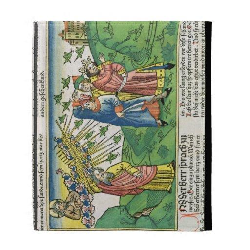 Exodus 10:1-20 The Seven Plagues of Egypt: the pla iPad Folio Case