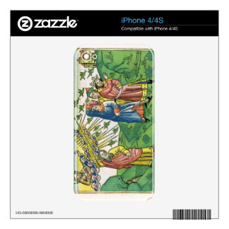 Exodus 10:1-20 The Seven Plagues of Egypt: the pla iPhone 4 Skin