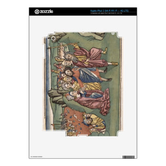 Exodus 14 Moses and the Israelites crossing the Re iPad 3 Skin