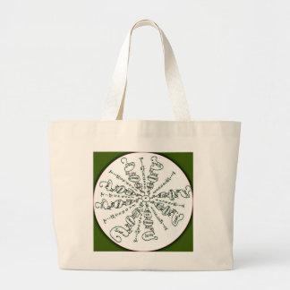Exodus 15:2 Mandala Canvas Bag