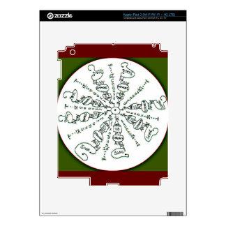 Exodus 15:2 Mandala iPad 3 Skin