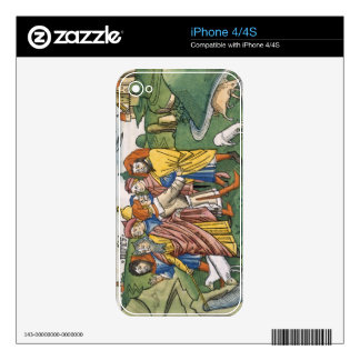 Exodus 17 1-7 Moses makes the water flow from the Decals For The iPhone 4