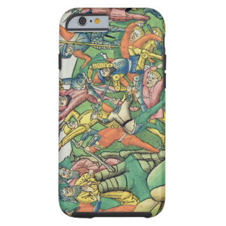 Exodus 17 8-15 Aaron and Hur support Moses' hands Tough iPhone 6 Case