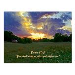 Exodus 20:3 post cards
