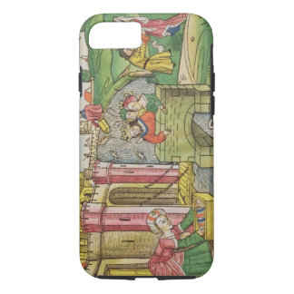Exodus 2 1-6 Moses being floated down the Nile and iPhone 7 Case
