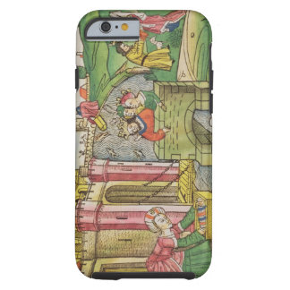 Exodus 2 1-6 Moses being floated down the Nile and Tough iPhone 6 Case