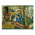 Exodus 31 2-8 Bezalel and Oholiab making the Ark o Postcards