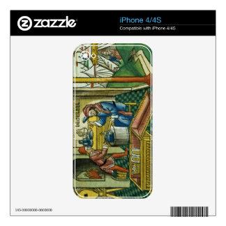 Exodus 31 2-8 Bezalel and Oholiab making the Ark o iPhone 4S Skins