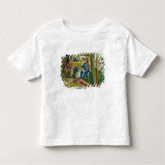 Exodus 31 2-8 Bezalel and Oholiab making the Ark o Toddler T-shirt