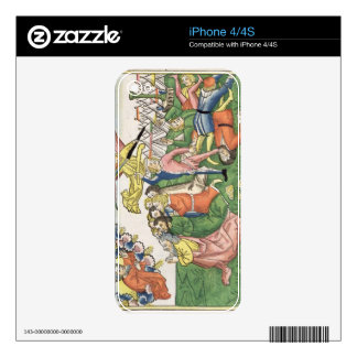 Exodus 32 15-23 Moses breaking the stone tablets, Decals For iPhone 4