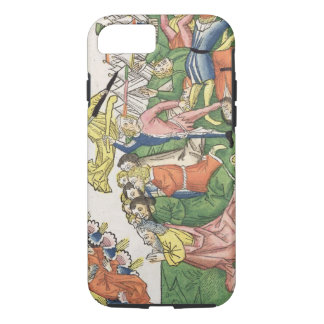 Exodus 32 15-23 Moses breaking the stone tablets, iPhone 7 Case