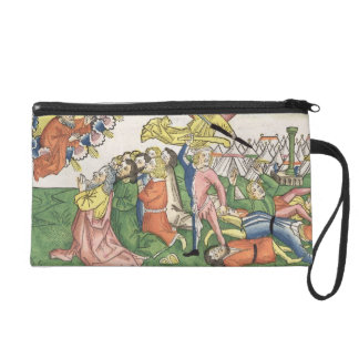 Exodus 32 15-23 Moses breaking the stone tablets, Wristlet