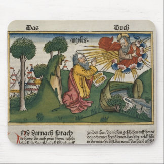 Exodus 34 1-10 Moses receives the second tablets w Mouse Pad