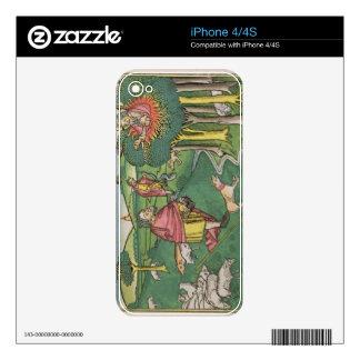 Exodus 3 1-22 The Burning Bush, and Exodus 4 1-4 G Skin For iPhone 4