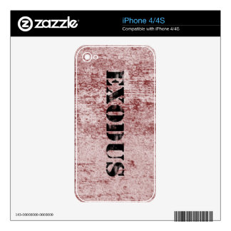 Exodus 6 skin for iPhone 4S