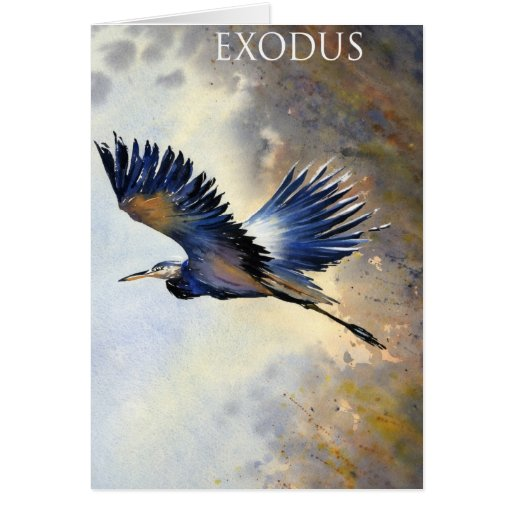 Exodus by Thomas Schaller Cards