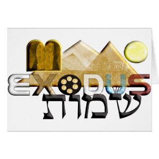 Exodus Greeting Card