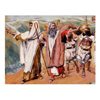 Exodus from Egypt. Fine Art Customizable Postcards