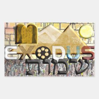 Exodus Rectangular Sticker
