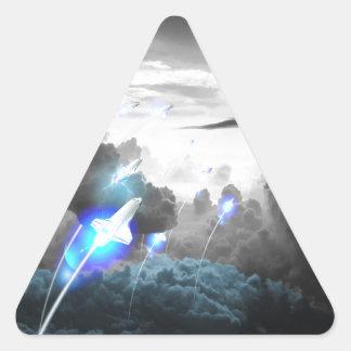 Exogenesis Triangle Sticker