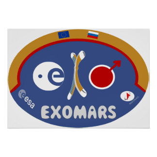 EXOMARS – The Search For Life Poster