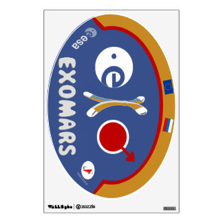 EXOMARS – The Search For Life Wall Sticker