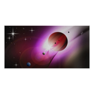 Exoplanet 334 Gasriese_ Posters