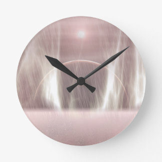 Exoplanet-864 Reloj Redondo Mediano