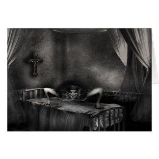 Exorcism Greeting Card