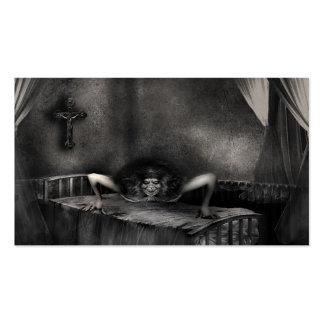 Exorcist  Customizable  Halloween Business Cards