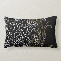 Exotic Animal Pattern | Changeable Color Lumbar Pillow