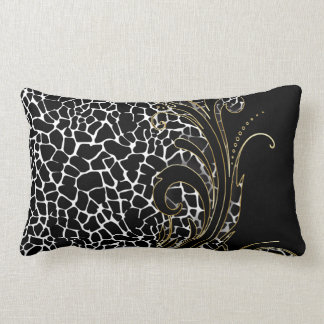Exotic Animal Pattern | Changeable Color Throw Pillow