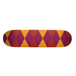 Exotic Argyle Skateboard