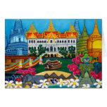 Exotic Bangkok Greeting Card